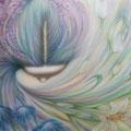 「花の女神」  2012年作  第68回現展(絵画部門)・入選