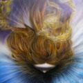 「太陽の女神」 2011年作 第62回群馬県美術展・入選