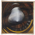 <b>El Gran Seno, 1993</b><br />50 x 50 inches, oil on canvas<br />Private Collection