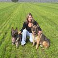 Rambo und Odin, meine beiden ersten eigenen Hunde - beide sind viel zu jung an Krebs gestorben...