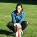 Kreismeister 5000m Geländelauf Martina & Lotta