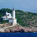 Bild: Weißer Leuchtturm