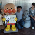 On the medical campus with a Hero, 大学にてアンパンと(Sep. 2013)