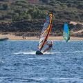 Marie in der Bucht von Porto Pollo