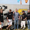 Olaf und Team Wind-Schiefs