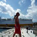 Rücktour Hafen Bastia