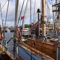 Der Hafen von Nysted hat sich gefüllt