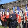 Discours d'Etienne Jacheet, Délégué départemental de la Fondation de la France Libre du Loiret en hommage à Jacques Roumeguère