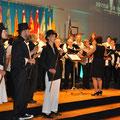 Der Gemischte Chor Grosswangen in seinem Element
