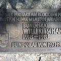 Hier verstarb 1983 Bundesrat Willi Ritschard