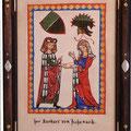 マネッセ(スイス)の写本「吟遊詩人より」
