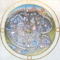ランブール兄弟の時祷書より「ローマの地図」