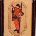 南ローランドの修道院所蔵「中世の遊びカード」