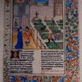 ベトルス・クレセンティウスの「田舎の収益の書」より「城館内の菜園」