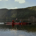 paddeln auf dem Dease Lake