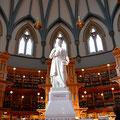 Die Bibliothek im Parlament von Ottawa