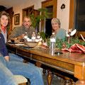 Abendessen mit Kathy und Danny