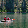 paddeln auf dem Mezidian Lake