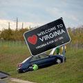 innige Liebe zu Virginia