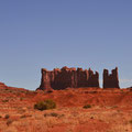 kurz vor dem Monument Valley