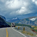 am Rand des Glacier National Parks