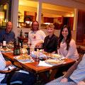 Familienfest bei Carol und Tom