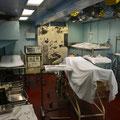 Hospital im Flugzeugträger Yorktown