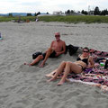 Sandy Beach mit Kevin