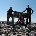 Gipfelstürmer am Gros Morne