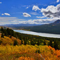 am Rand des Glacier National Parks