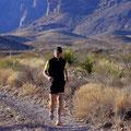 Big Bend NP, traumhafte Laufstrecke beim Pine Canyon