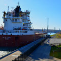 Welland Canal, verbindet Lake Ontario und Lake Erie