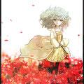 幼少期ネリネ。ネリネの花言葉は「幸せな記憶」
