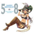 FF14。お友達のお誕生日だったので描かせてもらいました!
