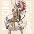 けもみみ×民族ファンタジーシリーズ。インディア×狼