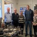 Besuch beim metallverarbeitendes Unternehmen Ahmotoute