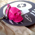 Ever seen a pink skull with a Swarowski eye?