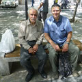 good conversation with this old man in Teheran