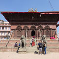 Tempel am Durbar Square in KTM