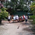 Unsere Baumschulente besucht einen Vortrag :-)