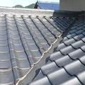 AFTER まるで新築の屋根瓦のようにきれいになりました。