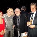 Rajka Poljak Franjević sa gospodjom Muljačić, Zvonimirom Mitrom i veleposlanikom RH-e u Bernu Jakšom Muljačićem za vrijeme proslave Dana državnosti u veleposlanstvu RH-e u Švicarskoj, 25.6.2010.