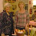 1. Vorsitzende mit der Referentin Frau Gelhausen