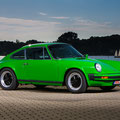 Porsche 911 classic car im rostocker Stadthafen