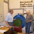 Wie funktioniert die Francis-Schachtturbine?