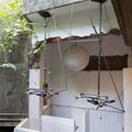 That Summer Days, 2013, Metal construction, motor, CD player, speaker(sound)