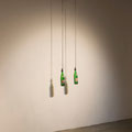 Couple, 2013, Metal construction, motor, 7up bottles