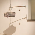 Carrier No. 8, 2013, metal, news papers, scale, weights, propeller