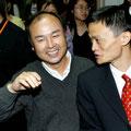 中国ネット通販大手アリババに1999年10月(設立同年3月)49%投資した孫正義とマー会長