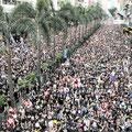 200万人のデモ 人・人・で埋め尽くす